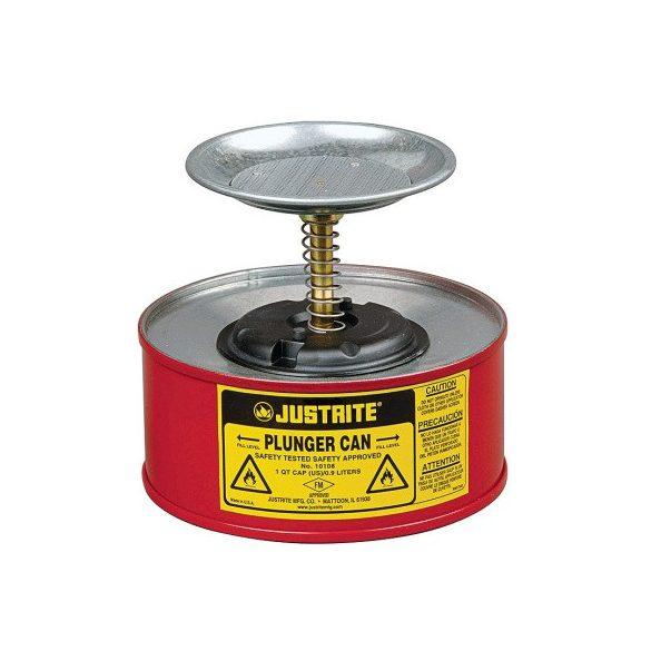 Justrite – 1 l nedvesítő edény gyűlékony anyagra, ø 184x143 mm