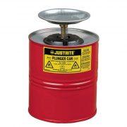 Justrite – 4 l nedvesítő edény gyűlékony anyagra, ø 184x267 mm
