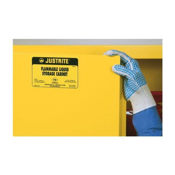 Biztonsági szekrény, 1092x457x1118 mm