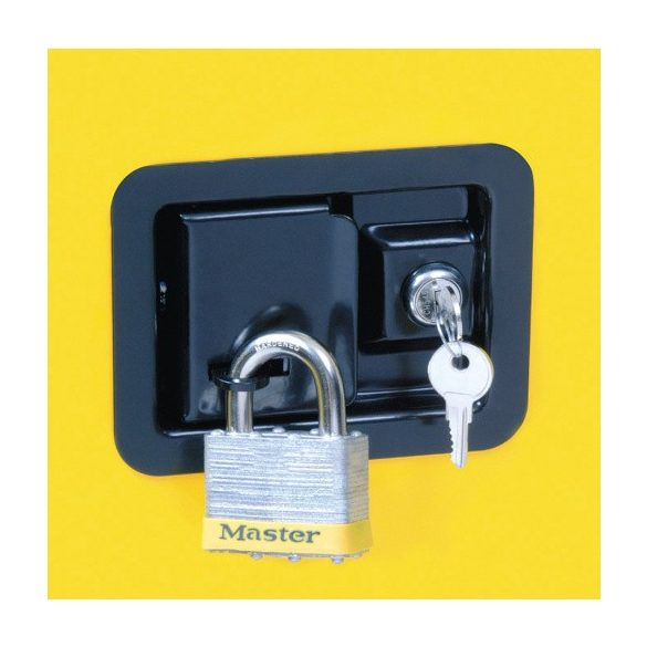 Biztonsági szekrény, 1092x457x1651 mm
