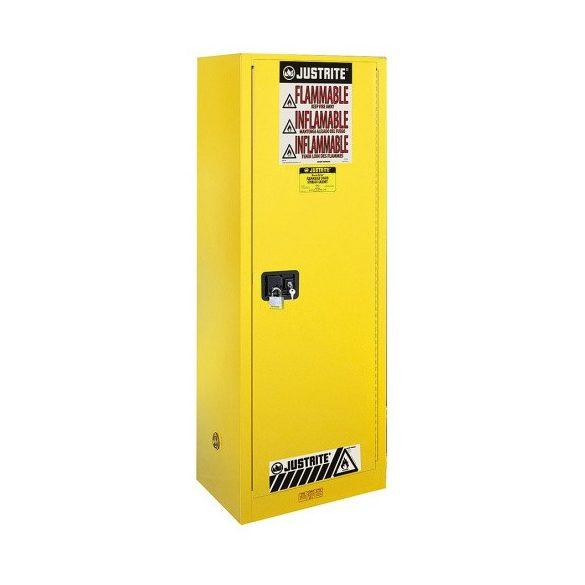 Biztonsági szekrény, 591x457x1651 mm