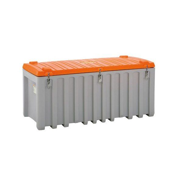 Polietilén tároló láda, 1700x800x800 mm, 750 L
