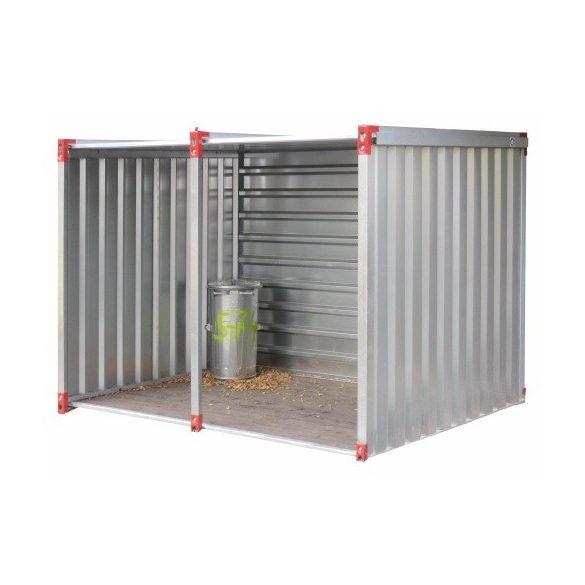 4 m-es univerzális konténer, 4000x2200x2200 mm