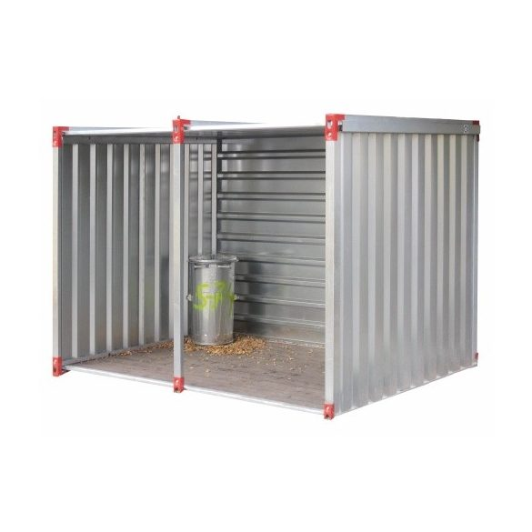 6 m-es univerzális konténer, 6000x2200x2200 mm