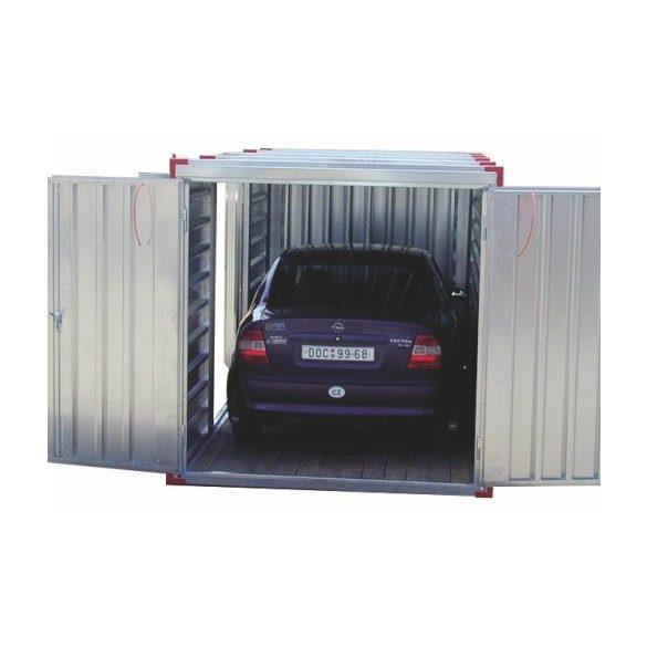 5 m-es mobil garázs, 5000x2200x2200 mm