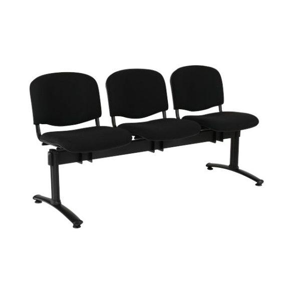 Kárpitozott konferencia szék-hármas
