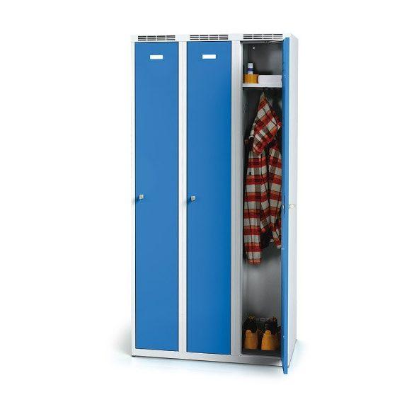 Öltöző szekrény, 750x500x1800 mm