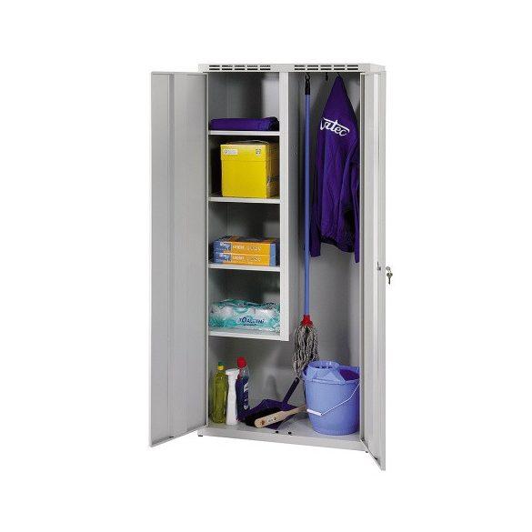 Takarító öltöző szekrény, 2 ajtó