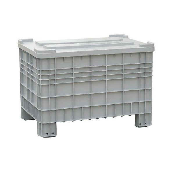 Műanyag konténer, 1200x800x800 mm