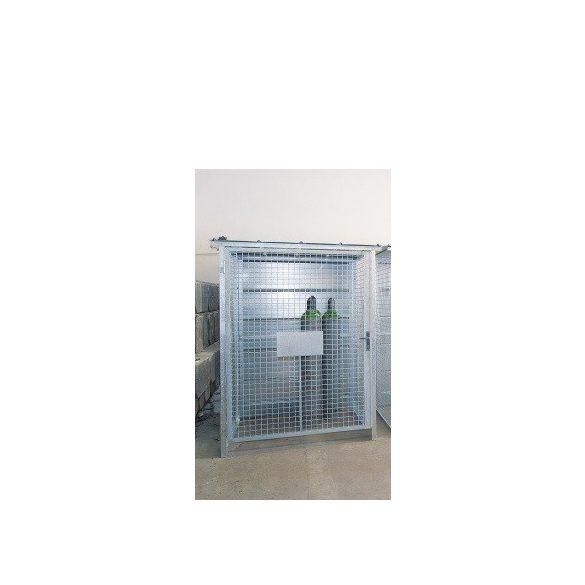 Tűzihorganyzott gázraktár, 1680x1900x2263 mm