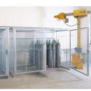 Tűzihorganyzott gázraktár, 3280x1900x2263 mm