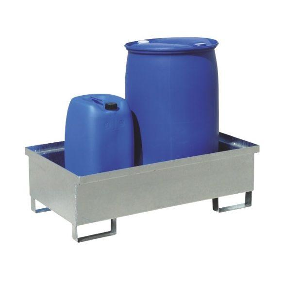 Gyűjtőkád fémháló nélkül, 1200x800x250/350 mm, 220 L