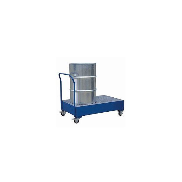 Kerekes gyűjtőkád, 1200x800x250/1200 mm, 220 L