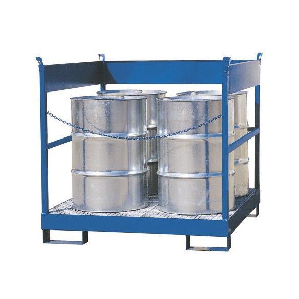 Gyűjtőkád - 4 hordós kivitelben, 1400x1400x1300 mm, 235 L
