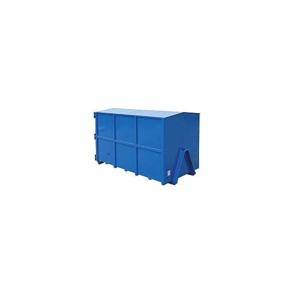 Sátortetős konténer, 3335x1820x2000/21000 mm