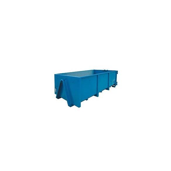 3 m³-es rögzített oldalú fém konténer, 3335x1820x500 mm