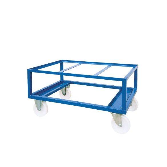 Kerekekkel ellátott szállító alváz,  1200x800x600 mm