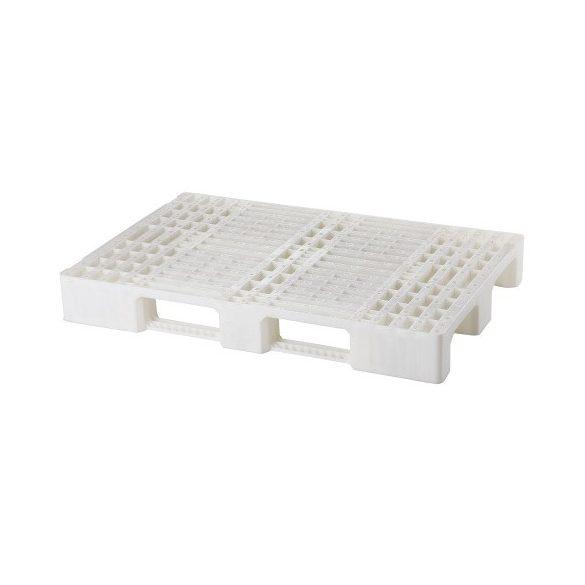 Műanyag raklap higiénikus, 1200x800x140 mm