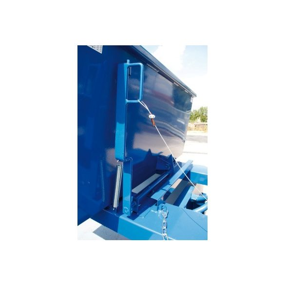 "1700 literes ""PROFI"" billenő konténer, 2210x1570x1090/1330 mm"