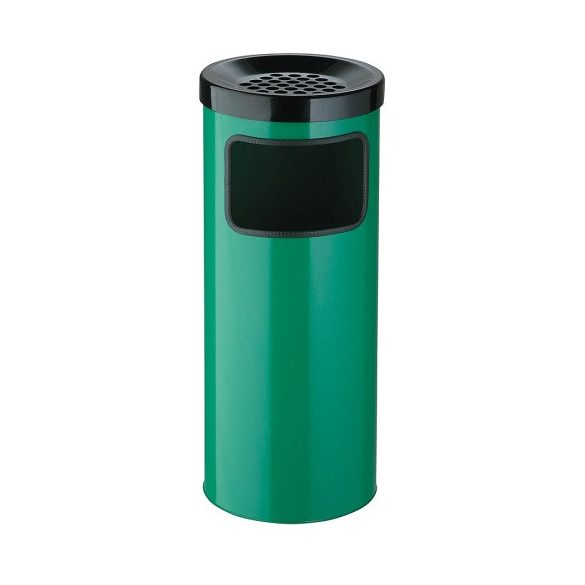 30 literes fém hamutartós hulladéktároló, ø 250x610 mm