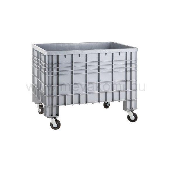 Kerekes műanyag konténer, 1200x800x950 mm