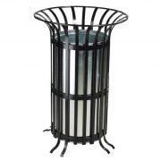 70 literes fém kültéri hulladékgyűjtő