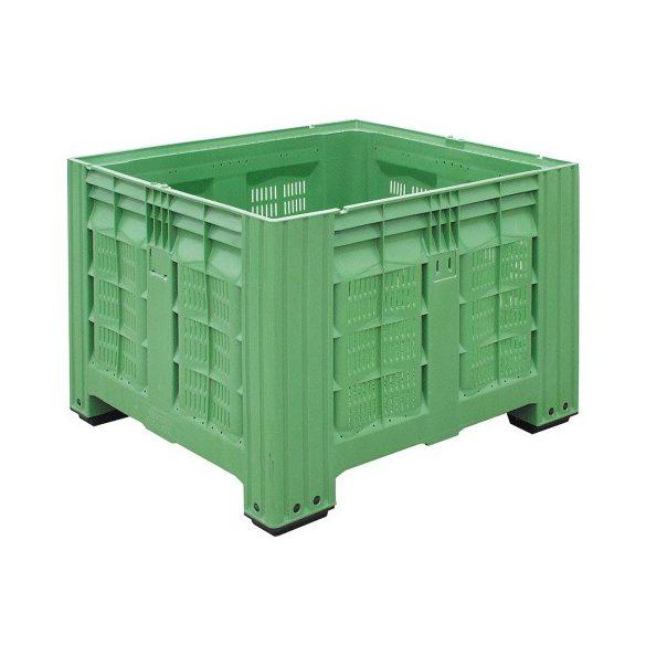 Műanyag konténer, 1200x1000x780 mm