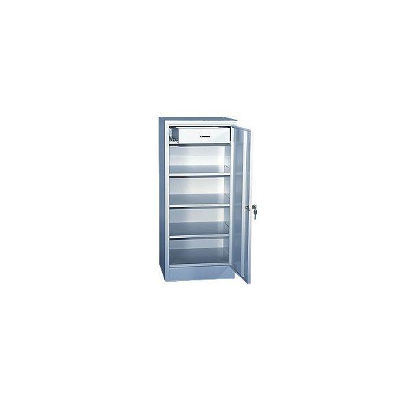 Fiókos műhely szekrény, 400x400x1000 mm