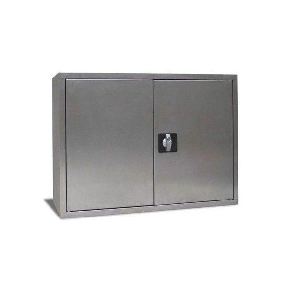 Rozsdamentes szekrény, 800x350x600 mm