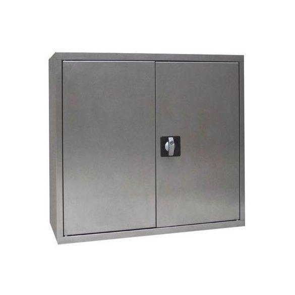Rozsdamentes szekrény, 1000x500x1000 mm