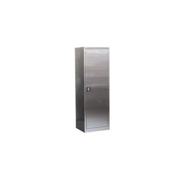 Rozsdamentes szekrény, 600x500x1800 mm