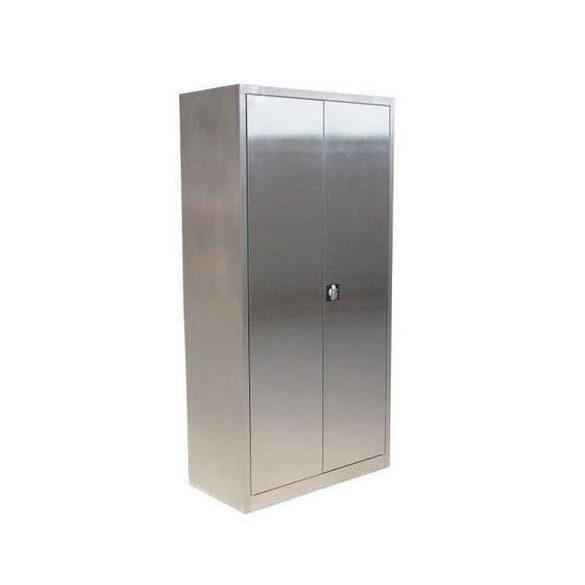 Rozsdamentes szekrény, 1000x500x1800 mm