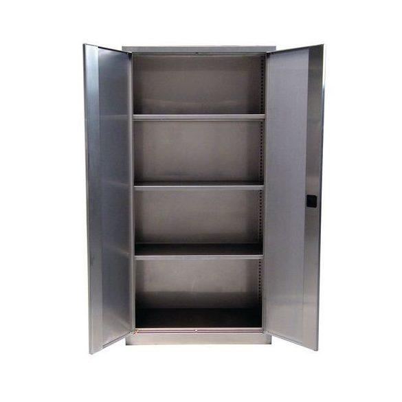 Rozsdamentes szekrény, 1000x500x2000 mm
