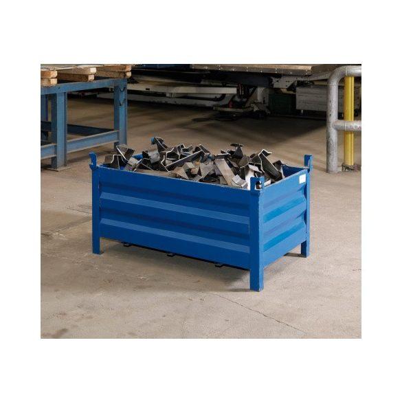 Lemez konténer 1200x800x600 mm t.b. 1000 kg