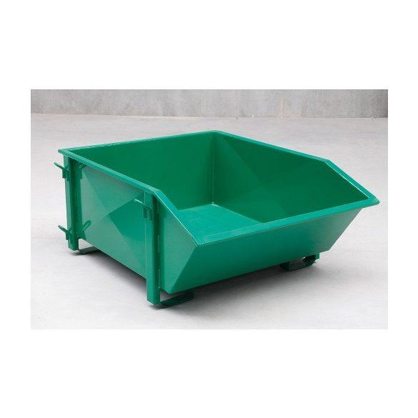 1000 L-es billenő konténer, 1500x1350x690 mm