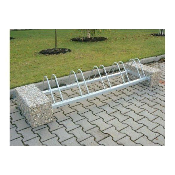 Kerékpár állvány beton végelemek nélkül, 1660x550x320 mm