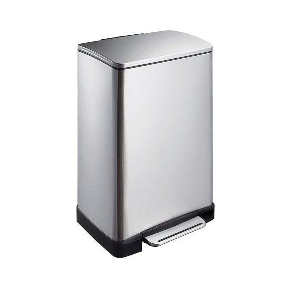 Rozsdamentes hulladéktároló kivehető betéttel 40 l, 403x345x650 mm