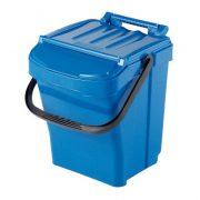 40 l -kék hulladékgyűjtő, 400x407x474 mm