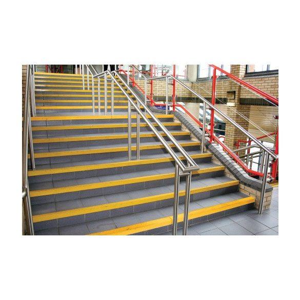 Csúszásgátló ragsztószalag lépcsőre, 55x55x3000 mm