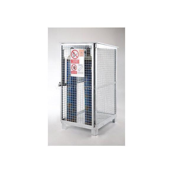 Gázpalack tároló szekrény, 936x1151x1891 mm