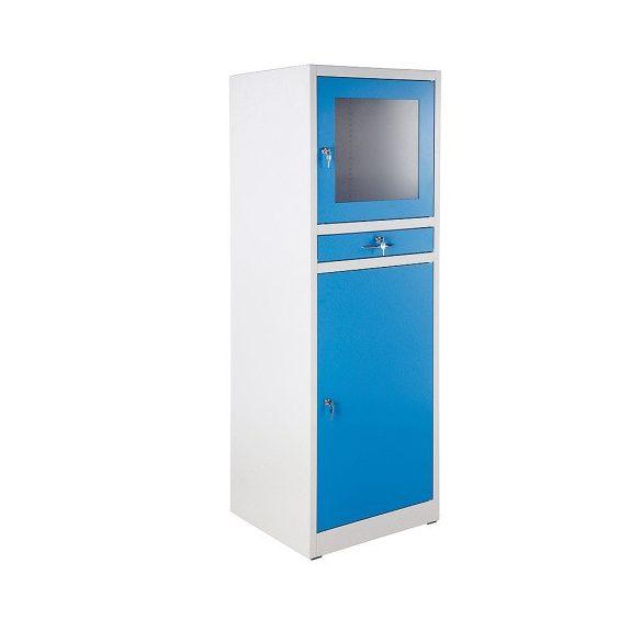Számítógép szekrény, 610x600x1850 mm