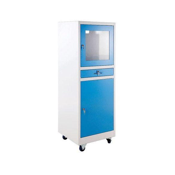 Számítógép szekrény, 610x600x1710 mm