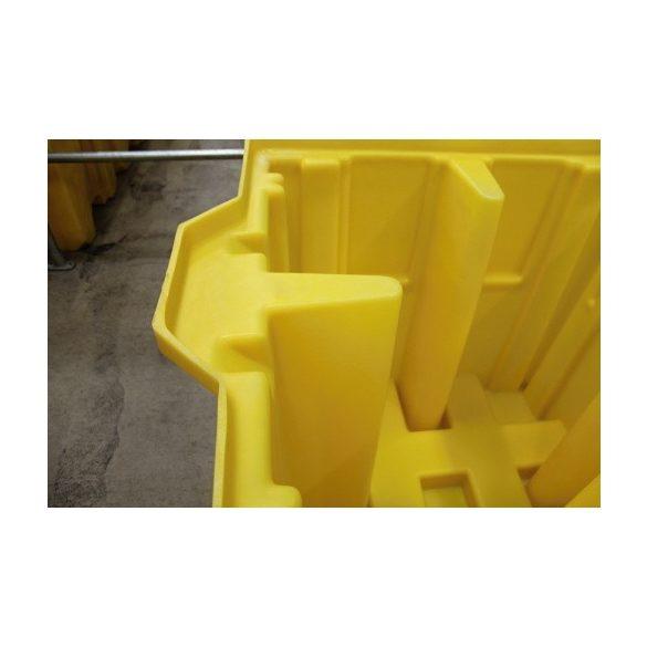 Gyűjtőkád IBC konténerre, 1230x1340x1090mm, 1150 L