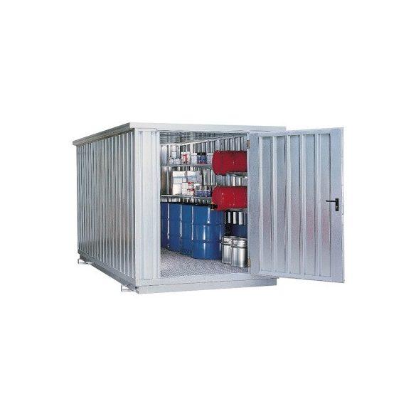 Raktár a vízre, többféle veszélyes anyagok tárolására, 4020x2350x2340 mm