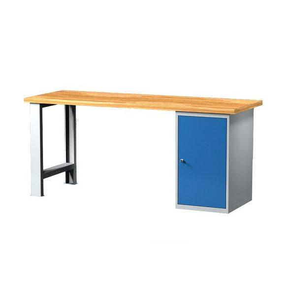 Munkaasztal, többféle méretben, 1 szekrénnyel