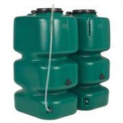 2000 l csapadélvíz tároló edény, 1050x1540x1740 mm