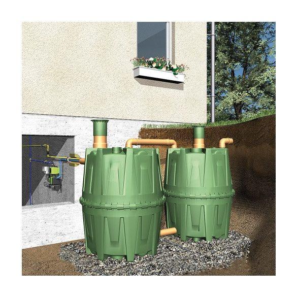 4 800 l vízgyűjtő tartály, 3x Ø 1350x1600 mm