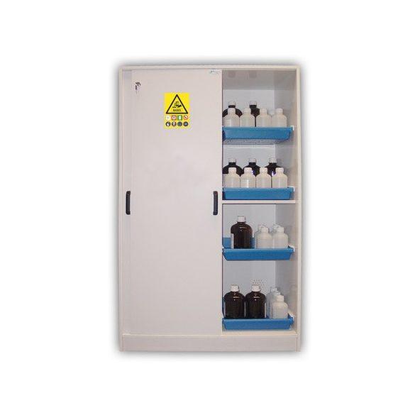 Biztonsági szekrény vegyi anyagokra 1135x615x1850 mm