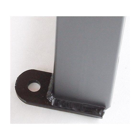 Kerti pad háttámla nélkül-STUTTGART, 1800x450x400 mm
