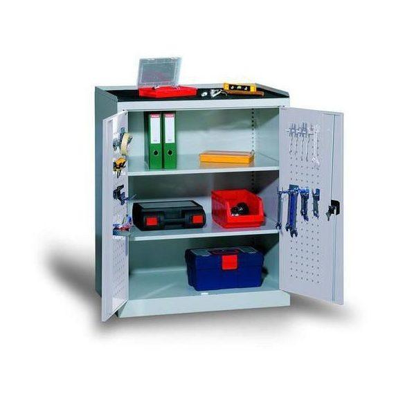 Fém műhelyszekrény, 950x600x1180 mm